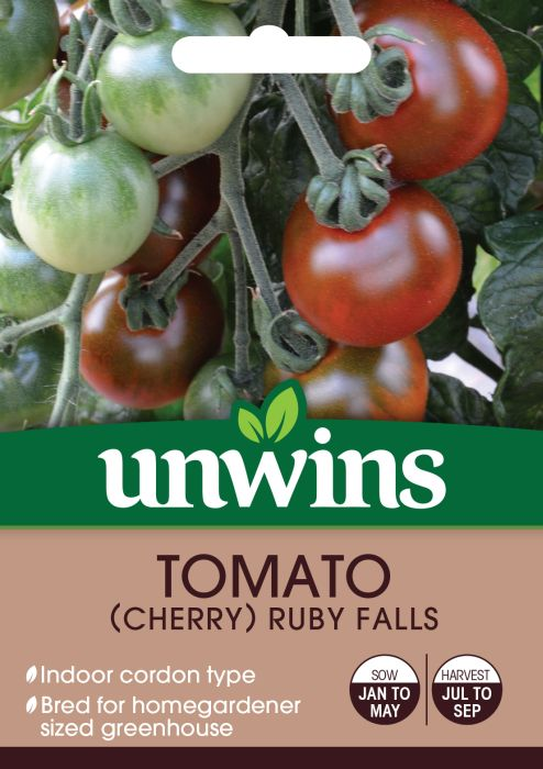 Picture of Unwins Tomato Ruby Falls Cherry