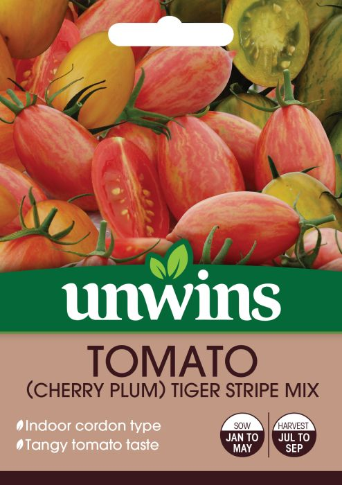 Picture of Unwins Tomato Tiger Stripe Mix