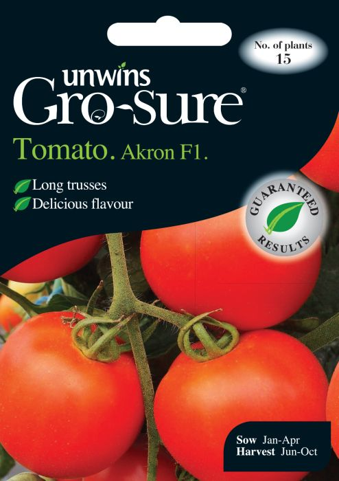 Picture of Unwins Tomato Akron F1