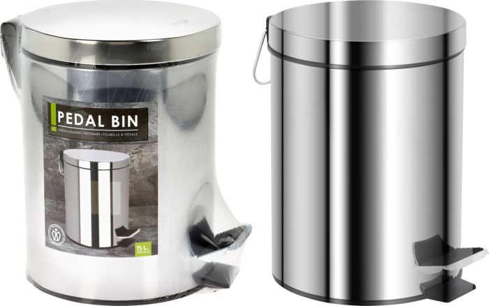 Picture of 5ltr Pedal Bin Stainless Steel