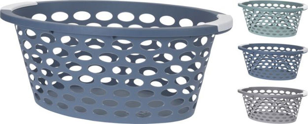 Picture of Y54230980 LAUNDRY BASKET WITH HOLES 3ASS