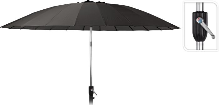 Picture of Umbrella Shanghai 270cm Charcoal