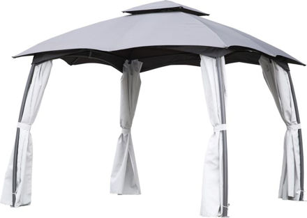Picture of Gazebo With Side Walls 3x3mtr
