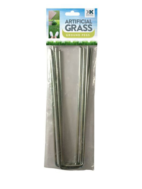 Picture of Artificial Grass Ground Pegs 5pk