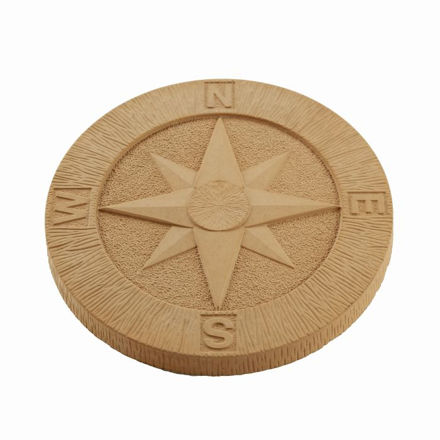 Picture of Compass Stepping Stone York Gold