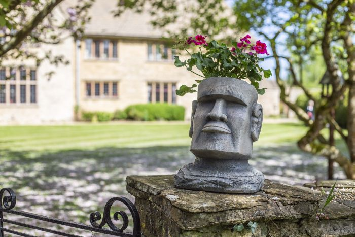 Picture of Easter Island Head Planter L