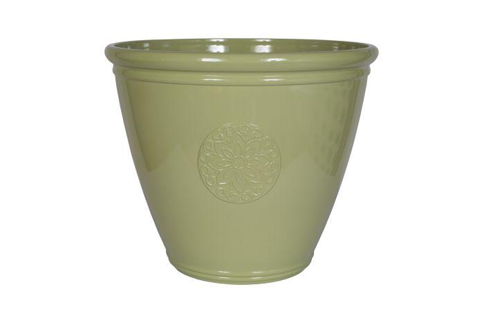 Picture of Eden Emblem Planter Green 45cm