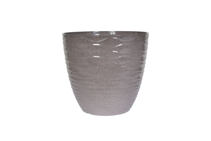 Picture of Windermere Glazed Planter Grey  33cm