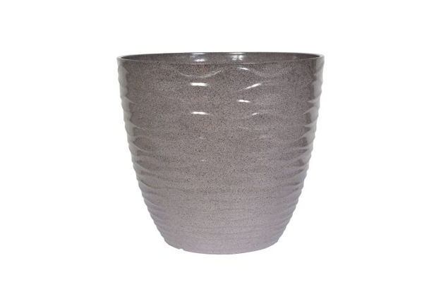 Picture of Windermere Glazed Planter Grey  38cm