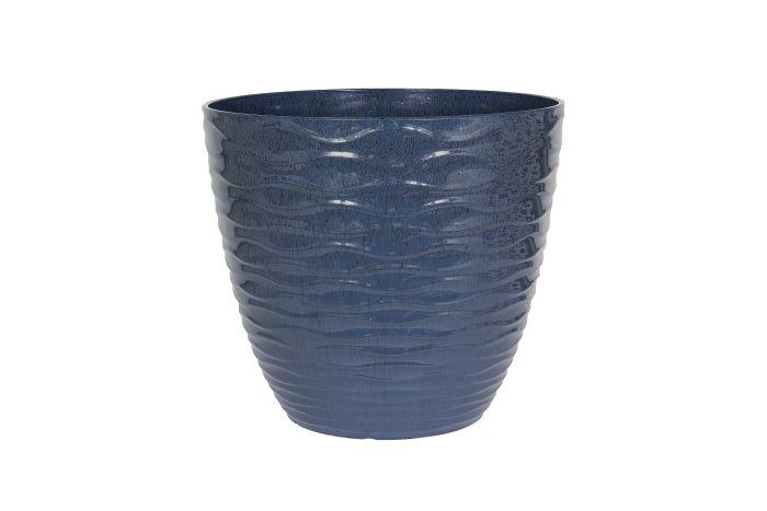 Picture of Windermere Glazed Planter Blue 38cm