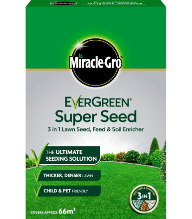 Picture of 2kg Lawn Seed Evergreen Super 66m2