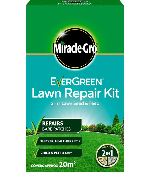 Picture of 1kg Lawn Repair Kit Carton Evergreen