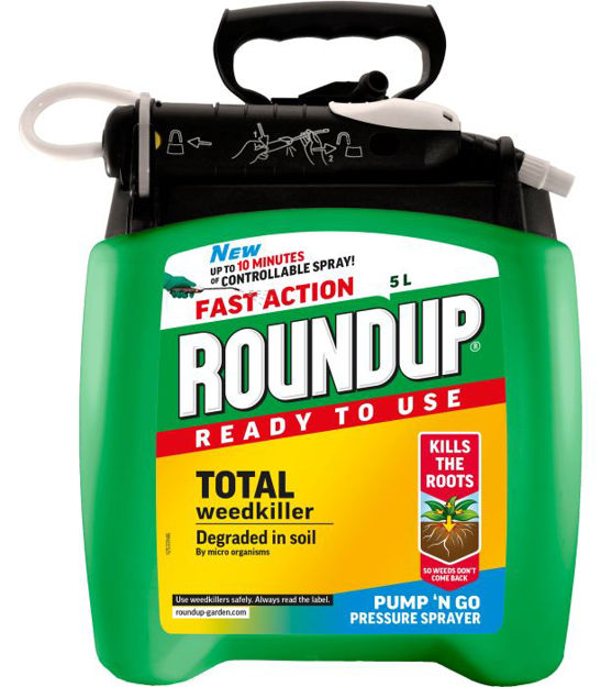 Picture of 5ltr Roundup Ready To Use Pump 'n Go