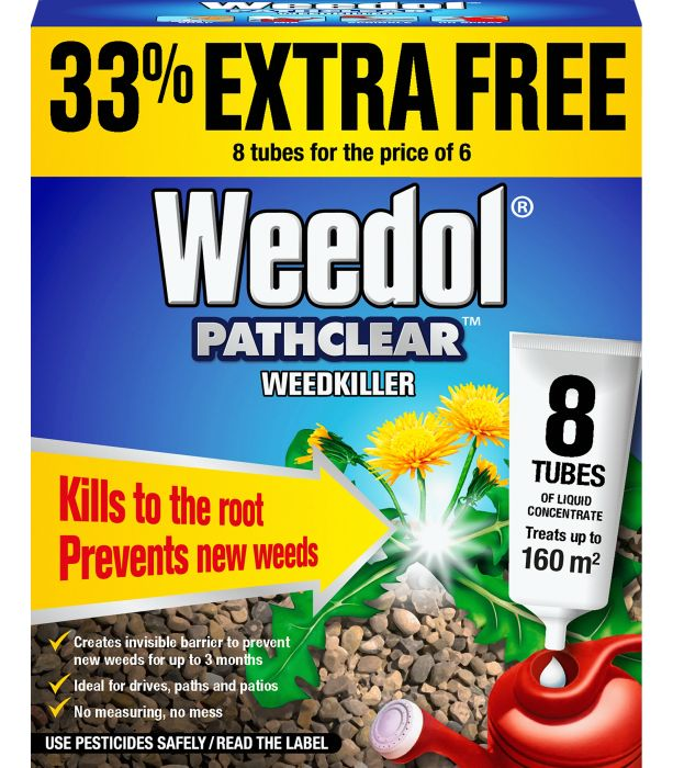 Picture of Weedol Pathclear Weedkiller Tubes+33%