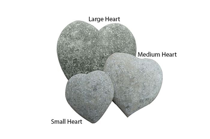 Picture of CST-HEART-015NA HEART OBJECT, 15CM L