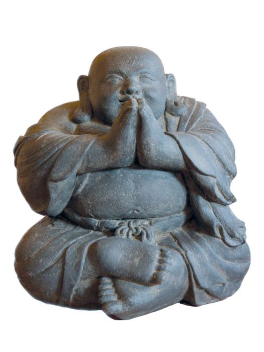 Picture of Sitting Monk Laughing 55cm (22 inches)