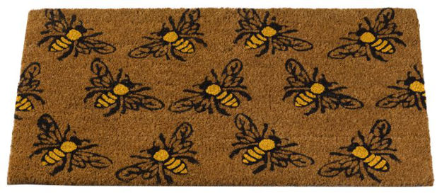 Picture of 5511060 MAT BUMBLEBEES 45 X 75CM
