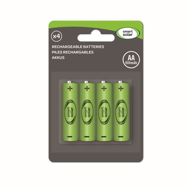 Picture of 1910110RC AA RECHARGEABLE BATTERIES 600mAh