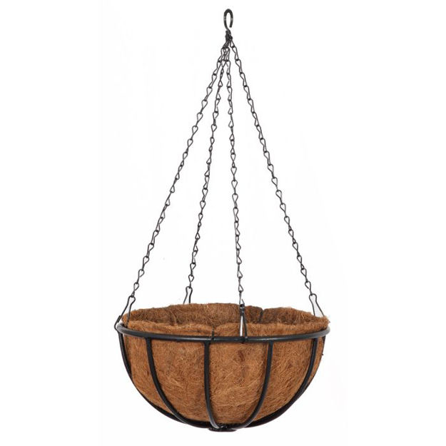 """Picture of Forge Hanging Basket 14"""""""