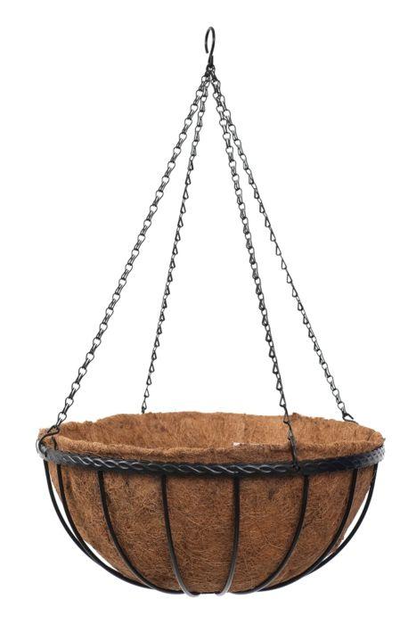 """Picture of 12"""" Saxon Hanging Basket"""