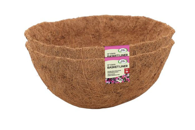 """Picture of 14"""" Coco Basket Liners Value Twinpack"""