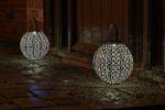 Picture of Damasque Bronze Solar Lantern