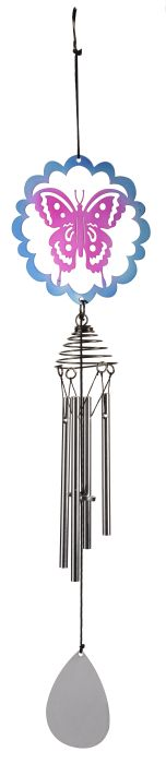 Picture of Butterfly Windchime 47cm