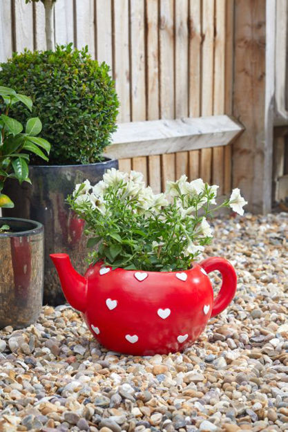 Picture of Teapot Heart Planter