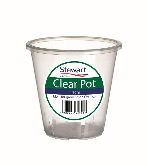 Picture of 11cm Clear Pot 11 X 10cm