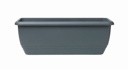 Picture of 50cm Patio Planter Slate Grey