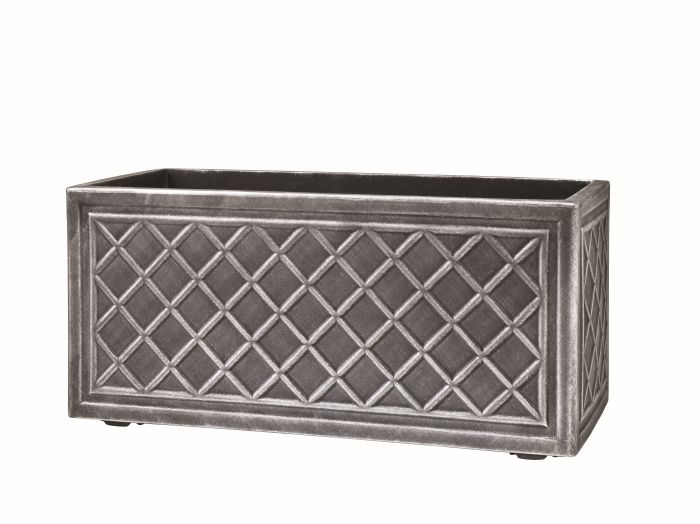 Picture of 70cm Lead Effect Trough Pewter