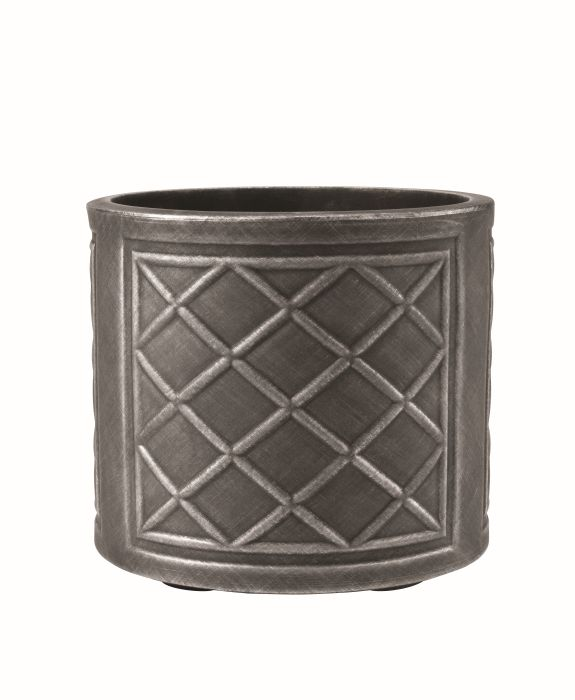 Picture of 44cm Lead Effect Round Pewter