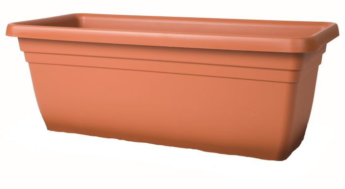 Picture of 80cm Deep Trough Terracotta 80x40x34cm