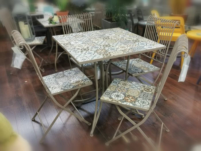 Picture of Venice Mosaic 4 Seater Set