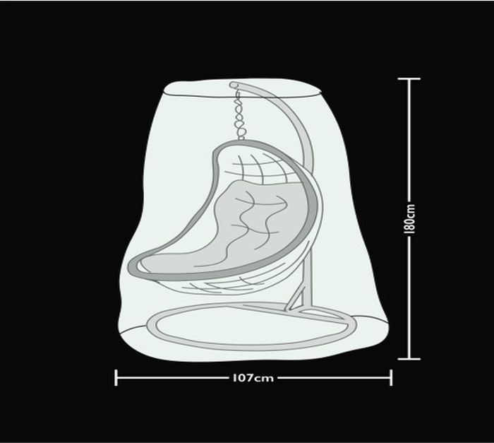 Picture of Prestige Grey Hanging Egg Chair Cover