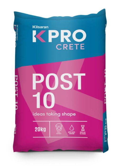 Picture of 20kg Kilsaran Post 10 Rapid Set Concrete  (Note: Instore Pickup Offer Only)