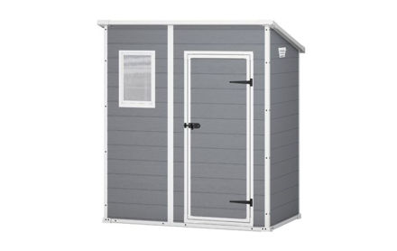 Picture of Keter Manor Pent Shed 6ftx 4ft Grey