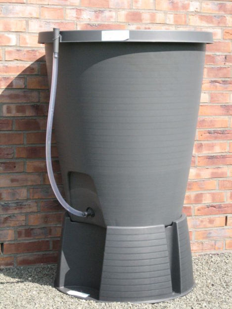 Picture of 220ltr Water Butt C/W Stand Graphite