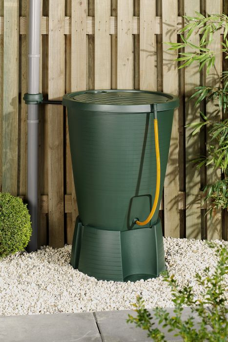 Picture of 220ltr Water Butt C/W Stand Green