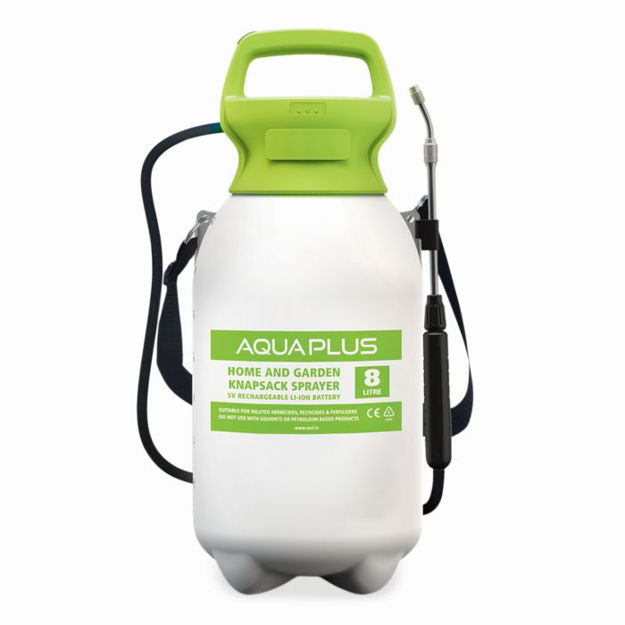 Picture of Aquaplus 5v Rechargeable Pressure Sprayer 8lt With Lithium Battery