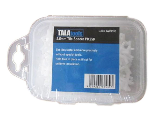 Picture of Tala 2.5mm Tile Spacers Pk 250