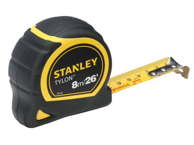 Picture of Stanley 8mtr Bi-Material Tape 25mm