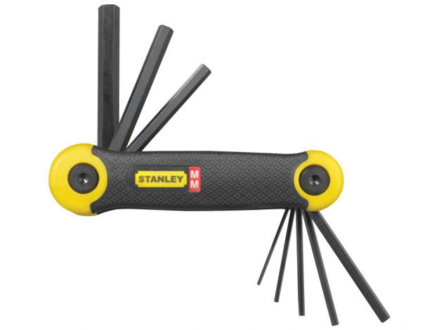 Picture of Stanley 8pce Metric Folding Key Set