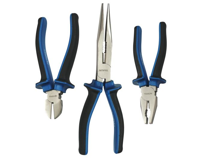 Picture of 3pce Softgrip Plier Set