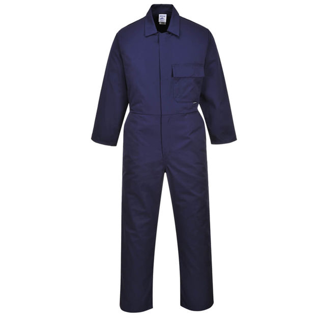 Picture of 8029nar Std Overalls Boiler Suit Navy