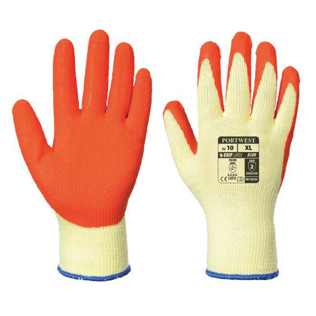 Picture of A109or Orange Grip Gloves