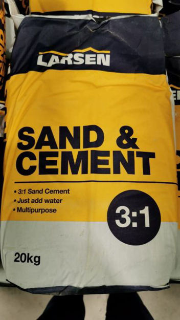 Picture of 20kg Larsen 3:1  Sand & Cement  (NOTE: Instore Pickup Offer only)