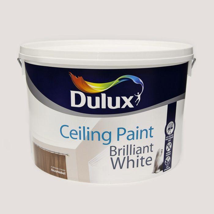 Picture of 10LTR DULUX CEILING PAINT BRILLIANT WHITE