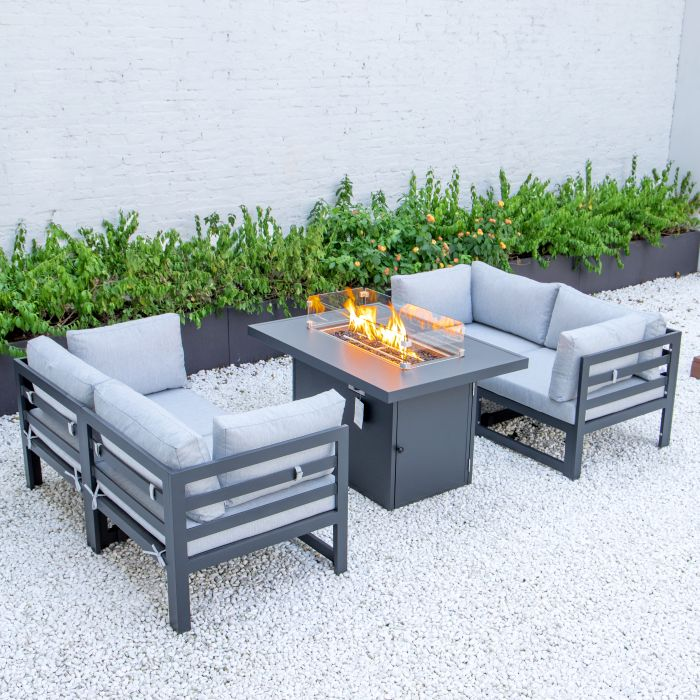 Picture of 4 Seater Modular Sofa And Firepit Set