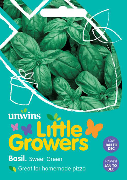 Picture of Unwins Little Growers Basil Sweet